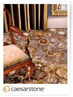 Caesarstone 8330 Petrified Wood; livingroom, floor, chair