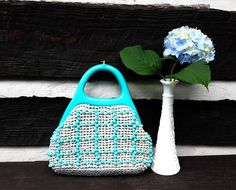 Hey, I found this really awesome Etsy listing at https://www.etsy.com/listing/387315908/vintage-bright-teal-turquiouse-summer