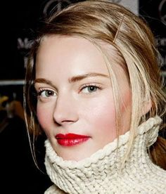So the winter is well and truly upon us. The cold north wind is blowing and playing havoc with your hair, so what are you going to do about it? The perfect solution to this and dull winter skin is a loud lip and glossy locks! We recommend using Kerastase Touche Finale, a super shine polishing serum for mirror shine. Finish in a low ponytail with a Bobby pin sweeping back your fringe for hair ready for the elements. Don't forget to follow us on Facebook, Instagram, Twitter and Pinterest for…