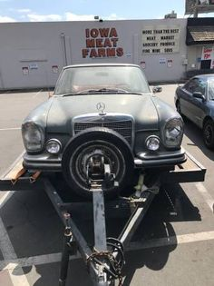 eBay: 1966 Mercedes-Benz 200-Series Rare Barn Find, Make Offer Today! Classic 1966 Mercedes Benz! #classiccars #cars