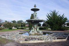 Rond point Clemenceau La fontaine de Tourny  a Soulac-sur-Mer (33)