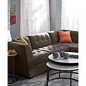 Roxanne Fabric Modular Living Room Furniture Collection with Sets & Pieces