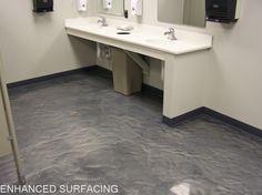 Decorative Marble Epoxy Flooring Toledo OH