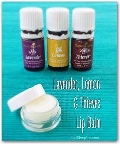My All-Natural Homemade Lip Balm Using Essential Oils