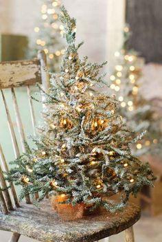 little Christmas tree. little Christmas tree. Noel Christmas, Merry Little Christmas, Primitive Christmas, Christmas Is Coming, Country Christmas, Winter Christmas, Christmas Crafts, Christmas Decorations, Miniature Christmas