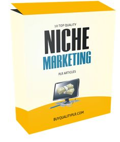 10 Top Quality Niche Marketing Articles - http://www.buyqualityplr.com/plr-store/10-top-quality-niche-marketing-articles/.  #nichemarketing #effectivenichmarketing #nichetargeting #nicheevaluation #profitableniche #lowcompetitionniche #nicheresearch #nichewebsite #lingo #traffictactics #trafficgeneration #branding #smallnicheadvantages 10 Top Quality Niche Marketing PLR Articles  In this PLR Content Pack You'll get....