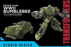 Transformers Studio Series Volkswagen Bumblebee Movie Figure Gallery
