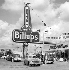 """""""The World's Best Service Station"""" – Fill Up with Billups"""