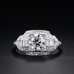 Vintage Art Deco (1930's) diamond engagement ring