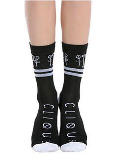 Be a fan from head to TØE // Twenty One Pilots Skeleton Clique Crew Socks