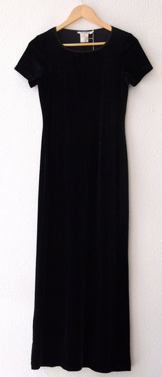 Witchy Goth Maxi Dress by SturnelleCollection on Etsy, $28.00