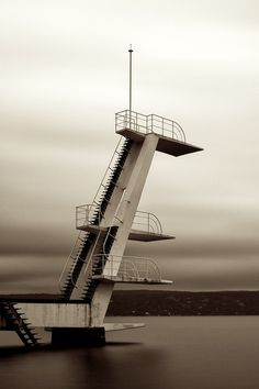 Diving Tower 2 by frodefjeld, via Flickr