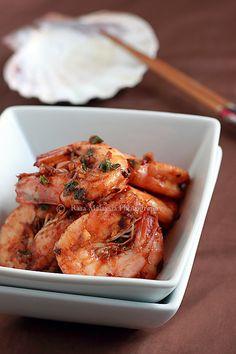Garlic Shrimp | Garlic Shrimp Recipe | Easy Asian Recipes at RasaMalaysia.com