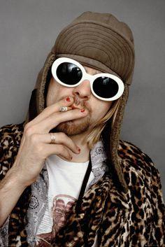 Nirvana Kurt Cobain Colour - Official Poster