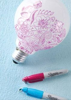 Light your room with the designs... SO PRETTY