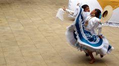 Marinera dance, Trujillo, La Libertad, Peru