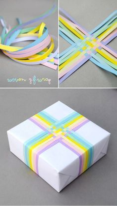 gift wrapping idea
