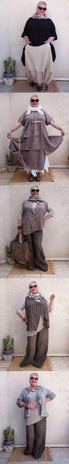 """Мода для полных дам-любителей """"бохо""""-стиля"""