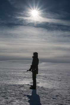 At wilderness it's not easy to know where are lake and where not. But when you know it, you can catch nice arctic chars. Ice Fishing, Arctic, Wilderness, Celestial, Sunset, Outdoor, Outdoors, Sunsets, Outdoor Games