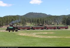 RailPictures.Net Photo: BHC #104 Black Hills Central Railroad Steam 2-6-2 at Hill City, South Dakota by Brian Roberts