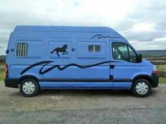 Love this..horse trailer and vehicle all in one!