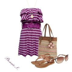 Purple Ruffle Dress :)