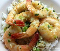 Thai Coconut Green Curry Shrimp with Basil & Scallion Lime Rice (5pp)