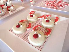 Red & White Christmas/Holiday Party Ideas | Photo 7 of 26 | Catch My Party