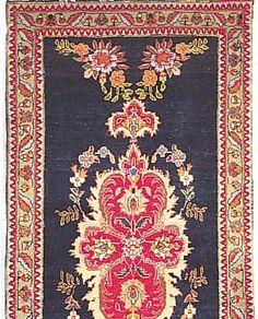 Täbriz, Persien, 370 x 77cm, , EHZ 3 Flor Wolle, ca.30 Jahre