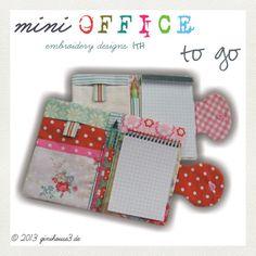 ginihouse3 - Sticken und Design: Büro für die Tasche :)