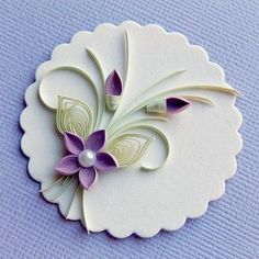 Simple #Quilling for today;) #quillingcreation #quill #quillingflowers #handmadegifts #handmade #rękodzieło