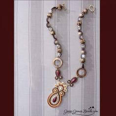 Marsala bead kit from Jesse James, as seen in Stringing Magazine