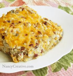 Loaded Hash Brown Potato Casserole