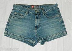 9.87$  Buy here - http://vikfl.justgood.pw/vig/item.php?t=s3djz359198 - Short Shorts Blue Cotton Denim Jeans Juniors Junior 9.87$