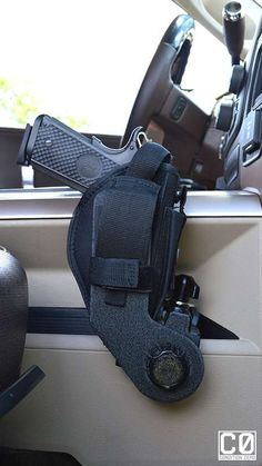 As a follow-up to their originalUniversal Pistol Clamp Mounts, Condition Zero Mounts is pleased to introduce their new and improved Universal Pistol Clamp Mount. This new mount includes a rotating mounting arm, for even more versatility and mounting positions.It's the perfect mount foranywhereyou need immediate access. Can be mounted on your UTV, in virtually any