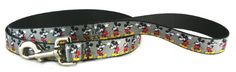 BUCKLE DOWN MICKEY MOUSE DOG #LEASH