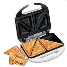 I HAD to have one of these when they came out! I was like 13. Probably the only 8th grader at Stilwell Middle School with my own sandwich maker!