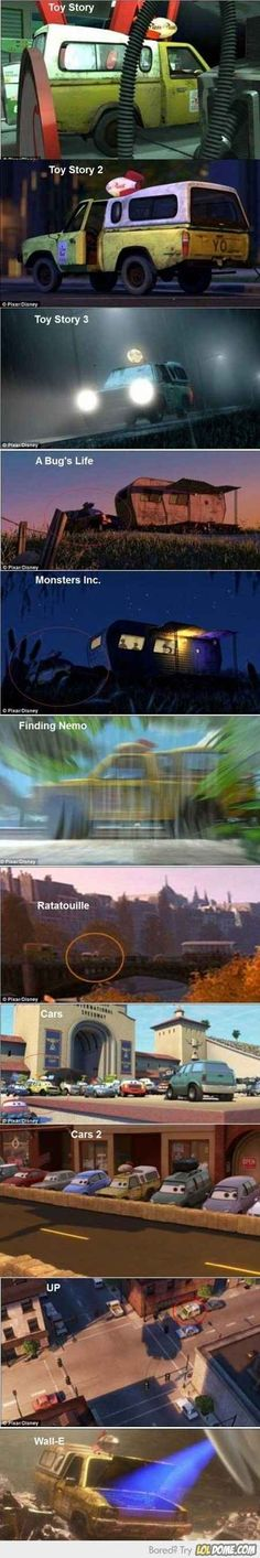 What?! Disney. So clever :-D