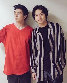Kento Yamazaki.. 山﨑賢人 with Mackenyu