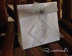 Bomboniera per Matrimonio con iniziali degli Sposi in fimo by Romanticards, by Romanticards e Little Rose Handmade, 1,00 € su misshobby.com