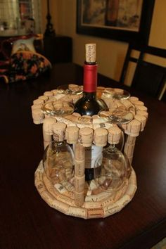 Coolest Wine Cork Crafts And DIY #winecorkcrafts