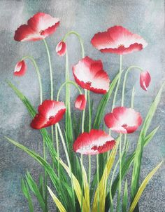 Hand Stitching, Peonies, Embroidery, Silk, Artwork, Flowers, Plants, Painting, Needlepoint