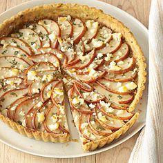 Savory Pear Tart | MyRecipes.com