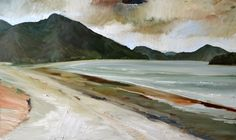 Ubatuba 29.IX.13  Oil on Canvas, 60x100cm.  2013.