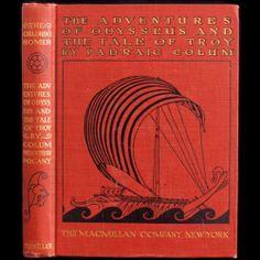 1918 Willy Pogany Illustrated First Odyssey of Homer Padraic Colum Fine Binding   eBay
