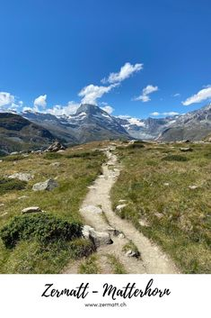Zermatt – Matterhorn: In Zermatt every hiking day has the potential to be perfect. Use our tips for inspiration and experience your personal perfect hiking day. #Zermatt #Matterhorn Zermatt, Swiss Alps, Tour Operator, Wallis, Be Perfect, Switzerland, Athlete, Tourism, Wanderlust