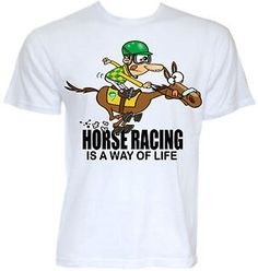 MENS FUNNY COOL NOVELTY HORSE RACING T-SHIRT JOCKEY DAD GIFTS PRESENTS JOKE RUDE HORSES STABLE LAD GROOM GRAPHIC FREE UK POSTAGE WORLDWIDE SHIPPING AVAILABLE | eBay