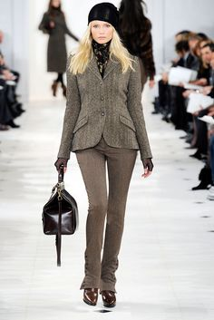 Ralph Lauren Fall 2010 Ready-to-Wear Fashion Show - Natasha Poly