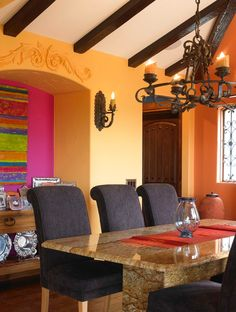 Mexican Living Room