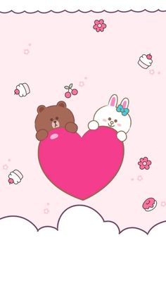 Win a brand new iPhone 11 Lines Wallpaper, Kawaii Wallpaper, Friends Image, Line Friends, Cute Winnie The Pooh, Cony Brown, Hello Kitty Images, Bunny And Bear, We Bare Bears